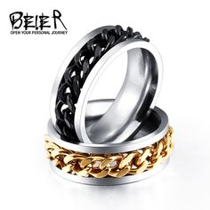 Bishilin Gold Plated Cubic Zirconia Open Triangle Spike Ring Silver Fashion Ring for Womens Size 9