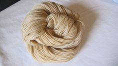 lily of the valley:  naturally-dyed merino wool + 10% cashmere + 10% nylon - fingering weight