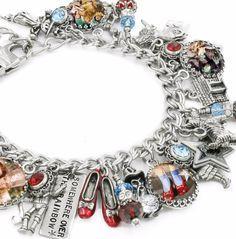 Wizard of OZ Bracelet, Wizard of OZ Jewelry, Glinda Jewelry, Wicked Witch of the West - Blackberry Designs Jewelry