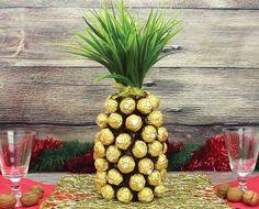 Zo Maak Je Met Een Fles Champagne Een Ananas Van CHOCOLADE!