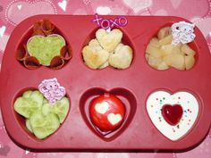 Fun #Valentine Muffin Tin Meal