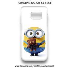 Cute Bob Despicable Me Minion Samsung Galaxy S7 EDGE Case Cover