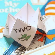 Dr Seuss Cootie Catcher