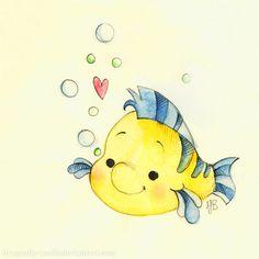 Flounde  la sirenita