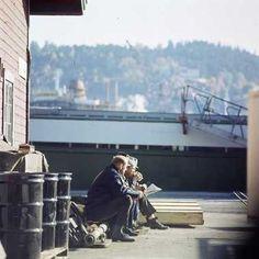 The docks. Henrik Ørsted 1975-80
