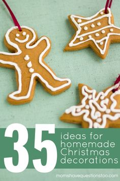 35 Homemade Christmas Decorations