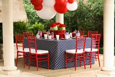 fourth of july tablescape, kimberly schlegel whitman.