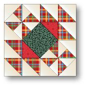 Hither and yon quilt block