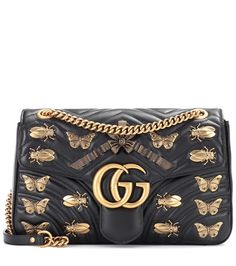 { GG Marmont leather