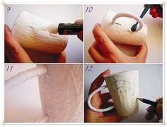 Passo-a-passo papel machê - dcoracao.com - blog de decoração