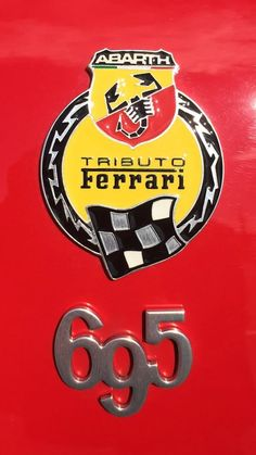 Fiat 695 Abarth Tributo Ferrari Occasion livrée le 08.04.2016 Ferrari, Fiat