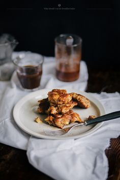 apple fritters via What Should I Eat For Breakfast Today
