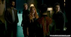 Raphael and jace and clary