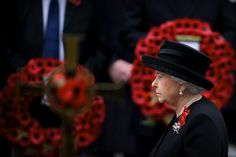 Queen Elizabeth, November 8, 2015 in Angela Kelly | Royal Hats. Remembrance Sunday