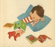 I can't get enough of vintage children's illustration. by constance