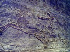 The Battle of Kadesh took place between the forces of the Egyptian Empire under Ramesses II and the Hittite Empire under Muwatalli II at the city of Kadesh on the Orontes River, in what is now Syria. The battle is generally dated to 1274 BC, and is the earliest battle in recorded history for which details of tactics and formations are known. It was probably the largest chariot battle ever fought, involving perhaps 5,000–6,000 chariots. - Art and Architecture during the Age of Empires
