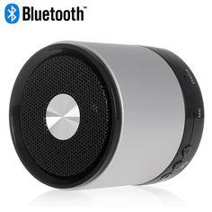 Silver Bluetooth LED Indicator Speaker for Smartphones #bluetooth #indicator #speakers #music #box $17.58