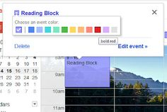 Using Google Calendar to make lesson plans for the classroom. A step by step.