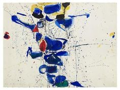 Untitled (SF59-531) - Sam Francis - WikiPaintings.org