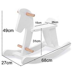 rocking horse measurement crafting for ideas - Homemade Scooter Cover Horse Plans