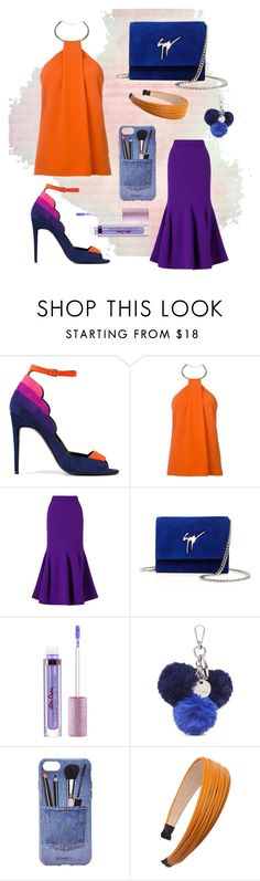 """""""Sunshine love"""" by the-pink-poppy on Polyvore featuring Pierre Hardy, Thierry Mugler, Roland Mouret, Giuseppe Zanotti, Nine West, Iphoria and Cara"""