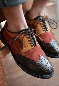 Oxford Shoes - so not me, but I can't help liking them .