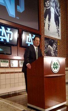 UND named Brad Berry head coach of the men's hockey program 5-18-2015