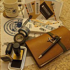 Midori Traveler's Notebook at Traveler's Factory
