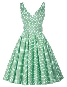 Summer Style Polka Dots Women Dresses 1950s Retro Vintage Swing Pinup Rockabilly Dress Bow-knot Audrey Hepburn Vestidos