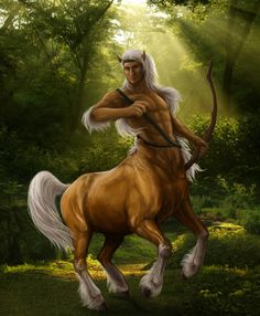 Chiron Commission by viergacht The eldest & wisest of centaurs. The ancient trainer of heros