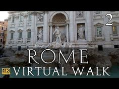 Rome Virtual Walk in Part Spanish Steps to Trevi Fountain Virtual Travel, Virtual Tour, Virtual World, The Places Youll Go, Places To Go, Virtual Field Trips, Home Learning, Travel Tours, Walking Tour