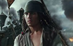 Younger Johnny Depp in new pirate film #5  2017