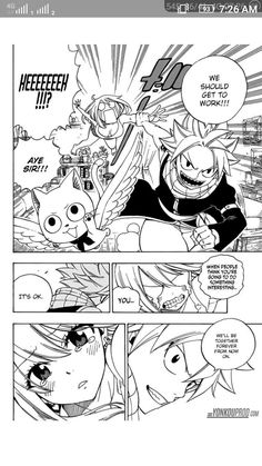 Natsu a party crasher...he breaks everyone's expectations