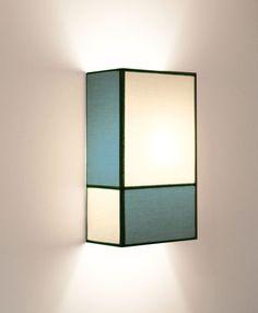 Pour le style et la toile fait une belle lumière Toile de coton + écru arêtes noires / rectangulaire