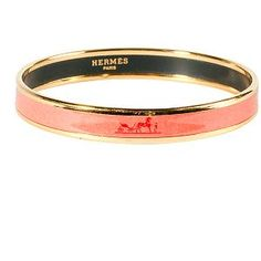 20% off 4/9 - 4/10 with BUNNY20.   Hermes Narrow Enamel Bracelet - great for stacking