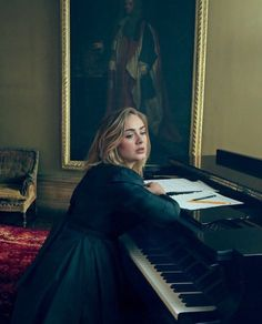 Adele for 'Vogue' Magazine