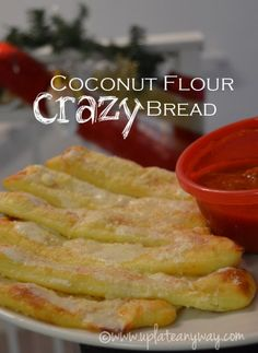 Crazy Bread » Low Carb » Gluten Free | Up Late Anyway