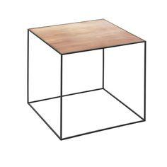 By Lassen Twin Table 42 sort/kobber