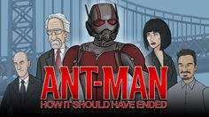 How Ant-Man Should Have Ended - I lost it at mini batman!
