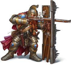 The Defender Battalion of Drachenstadt. Fantasy Warrior, Fantasy Dwarf, Fantasy Rpg, Medieval Fantasy, Fantasy Artwork, Fantasy World, Fantasy Character Design, Character Concept, Concept Art