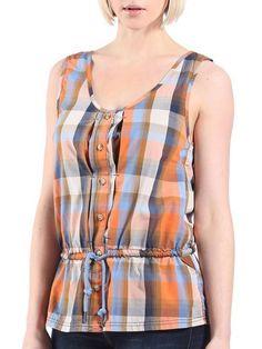 Blouse femme BENCH Bankeley B coton couleur orange Bench Clothing, Blouse, Street Wear, T Shirt, Collection, Tops, Women, Fashion, Streetwear Clothing