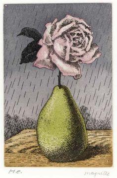Rene Magritte (1898-1967) Kaplan And Baum 1960 (276 x 219 mm)