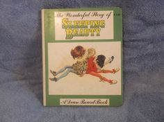 The Wonderful Story of Sleeping Beauty-A Dean Board Book, 1979, Holland
