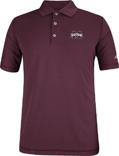 adidas Mississippi State Bulldogs 4th Quarter Pure Motion Performance Golf Shirt $56.95