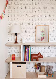 Inspiration interior design ideas.  DIY idea for childrens room. #Interiordesign #indretning #DIY #kidsroom #Børneværelse #Reol #indretningside #ide #Storage #ideas #reol #Zuny #edo #fermliving #Childrenroom