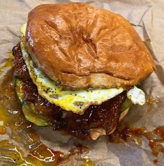#bulgogi bun from #bunmee at #sfo its one of their new locations and a different kind of #breakfast sandwich at least