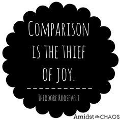 Comparing & Competing: The Downside of Social Media - Amidst the Chaos