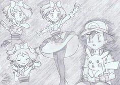 Beautiful ♡ Amourshipping ^.^ ♡ I give good credit to whoever made this