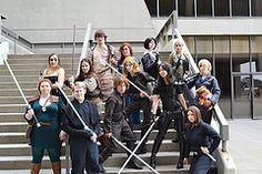 A shot of the Outlanders Club group from Dragon*Con 2011!     We had Mara Jade, Vestara Khai, 2 Jainas, Jacen, Tenel Ka, Tahiri, Luke, Anakin Solo, Winter, Lara, Mirax and Tamith Kai! Can't wait for D*C 2012! XD
