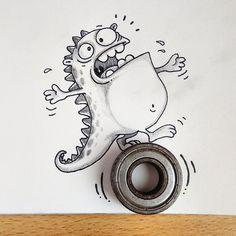 dibujo-dragon-drogo-interactuar-objetos-manik-ratan (6)